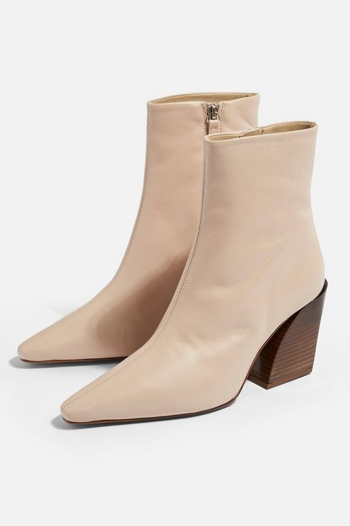 HENLEY High Ankle Boots. Available in three color including mint green!. Topshop. $170.