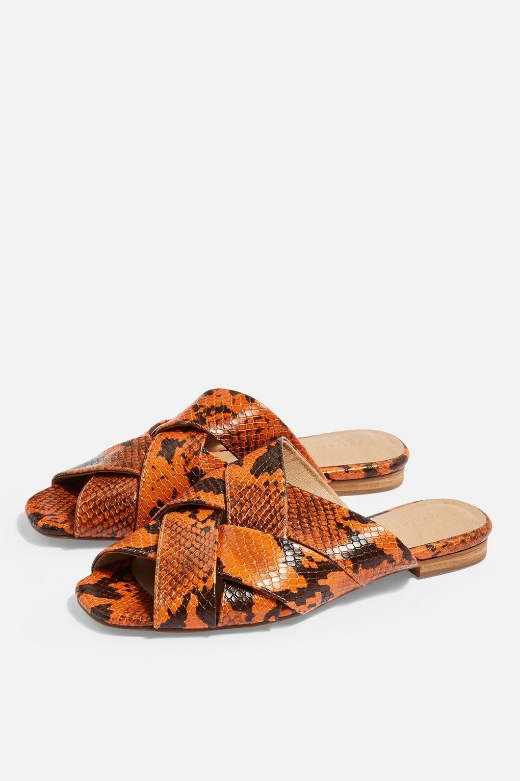 HOP Flat Sandals. Available in three colors. Topshop. $40.