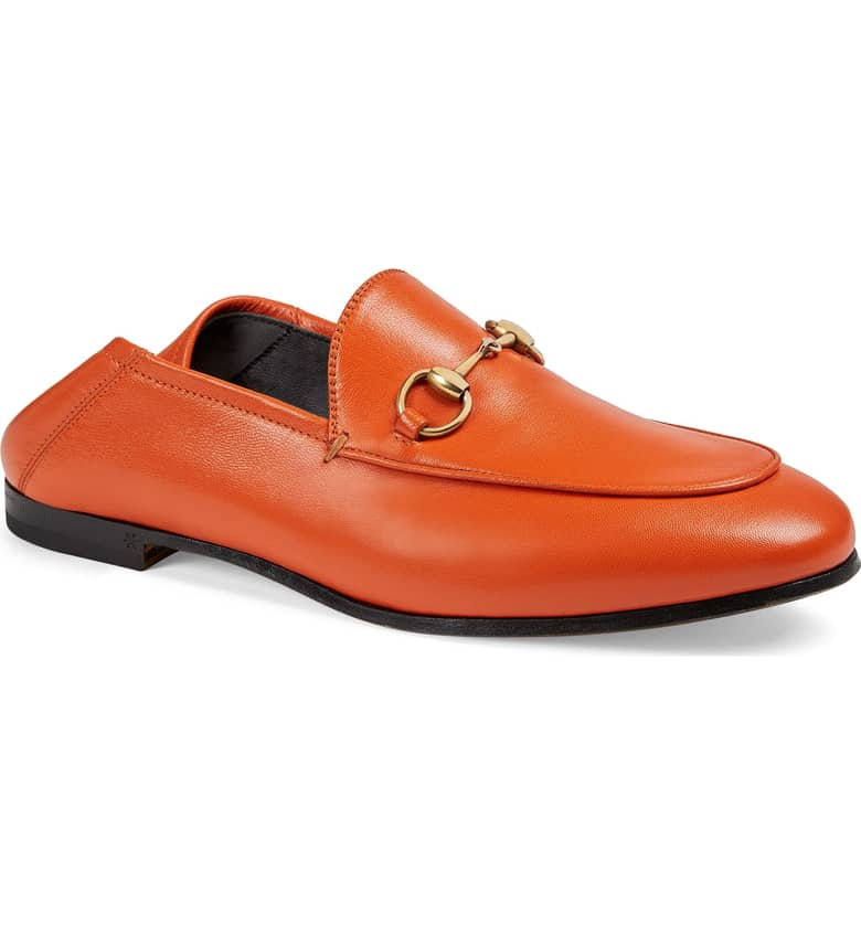 Right now on the  Inverted Triangle  page: Gucci Brixton Convertible Loafer. Nordstrom. $730.