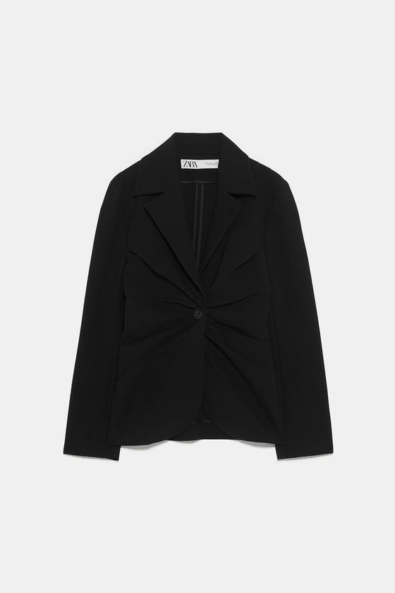 The Tailored Blazer BLACK $149 from Zara