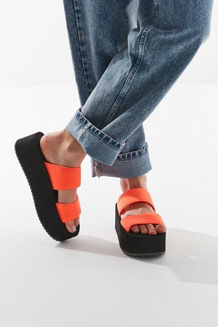 UO Ava Neoprene Platform Sandal $29.00