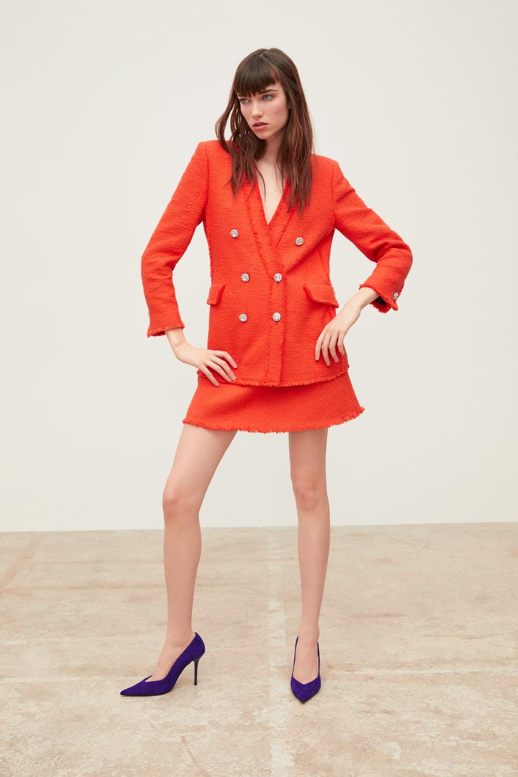 Tweed jacket.