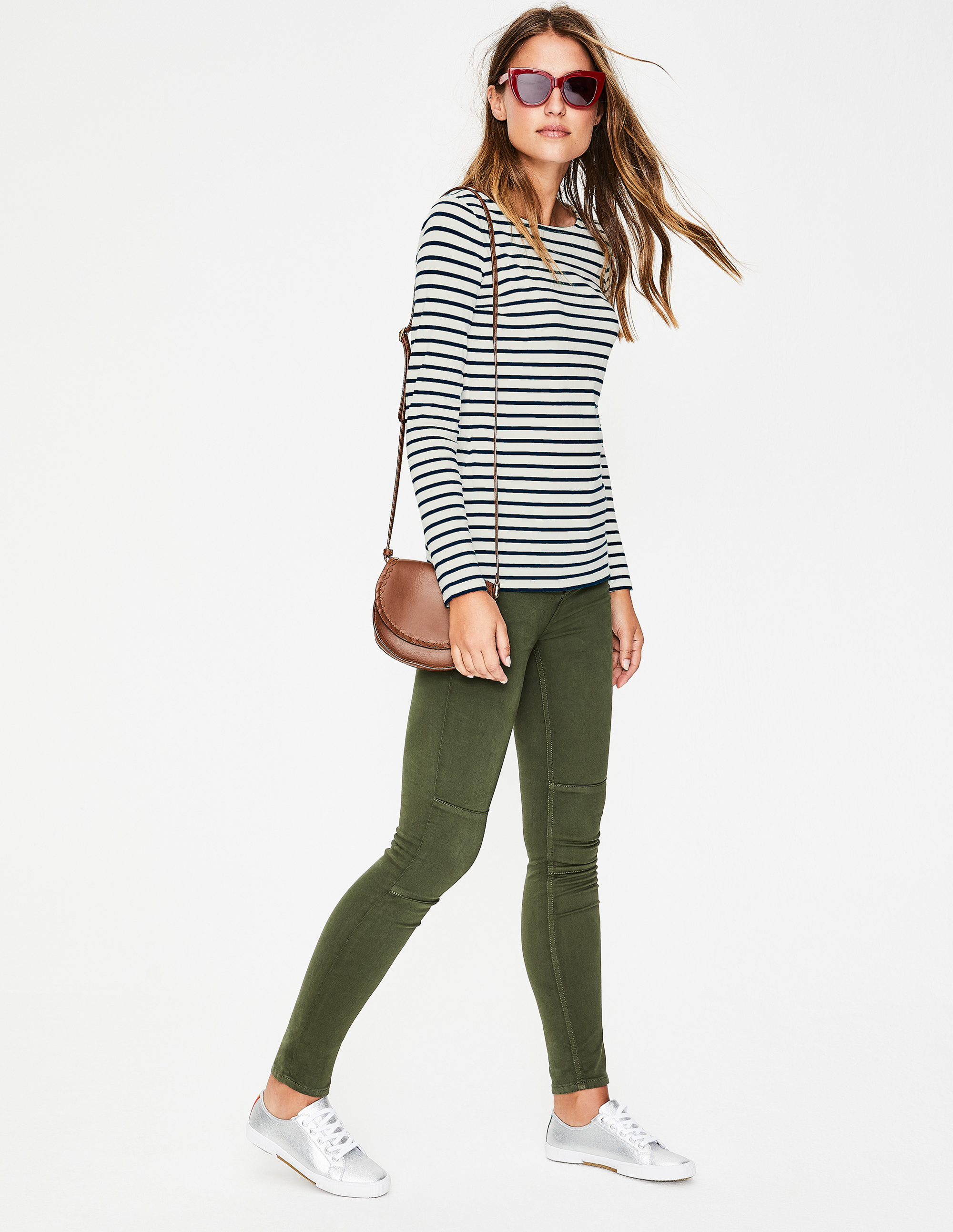My favorite Breton tee. Available in a zillion color combos.
