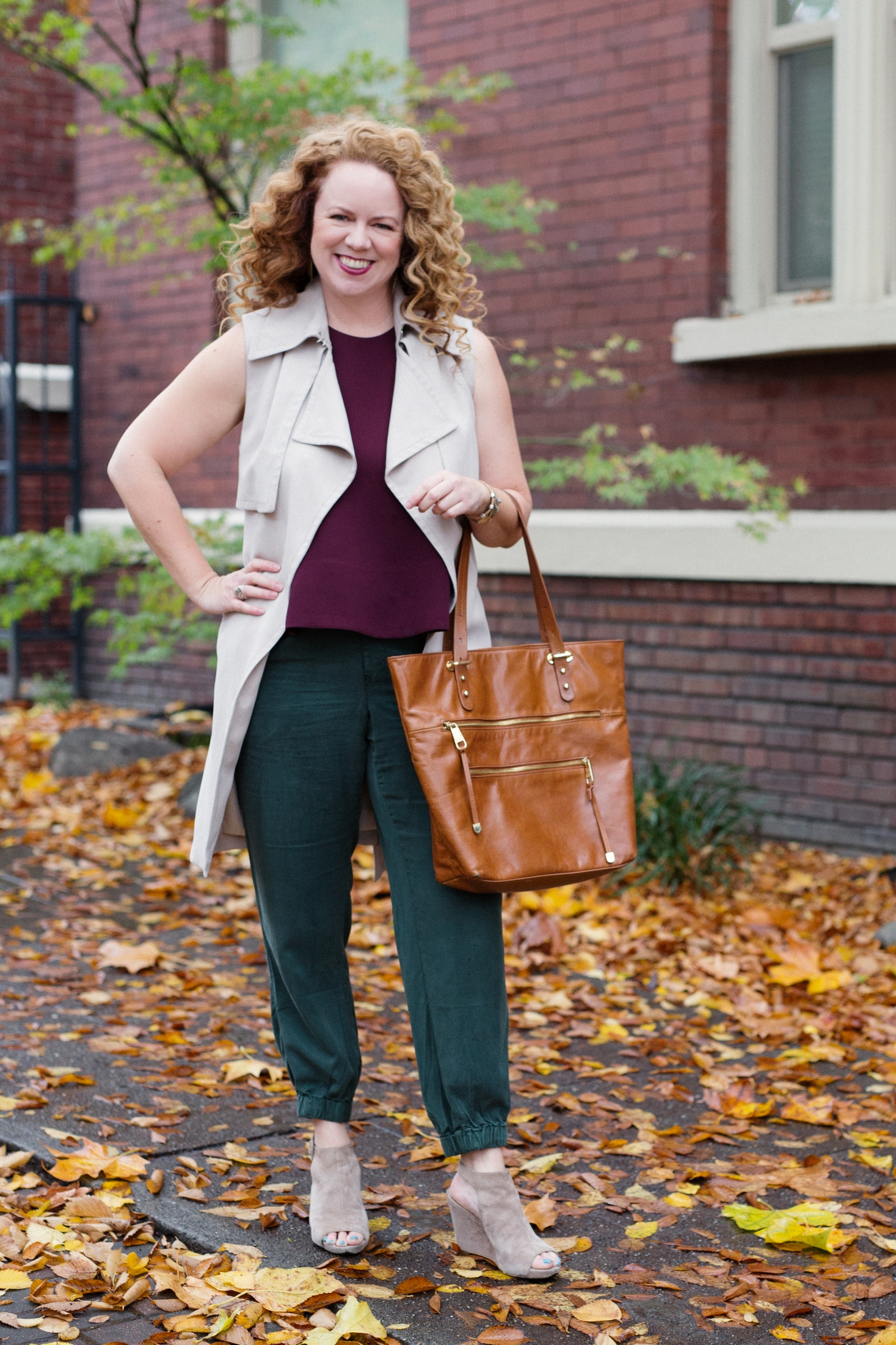 Poplin client Gretchen in her Approachable, Sexy, Effortless style. See her  story.