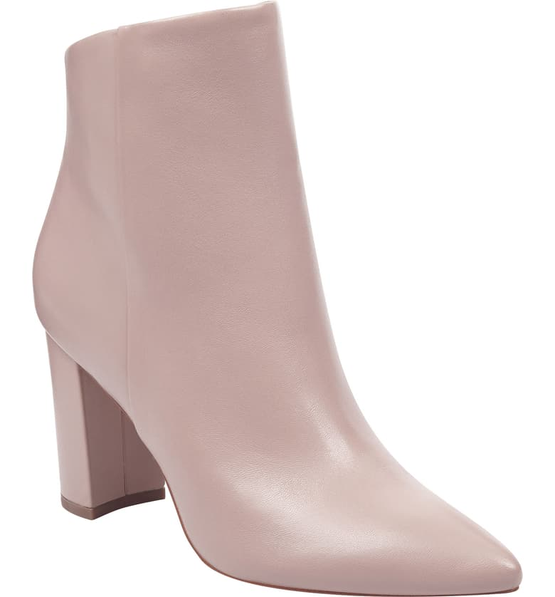 Remember, rose is a neutral! And that's not the only neutral that these minimalist ankle boots come in.