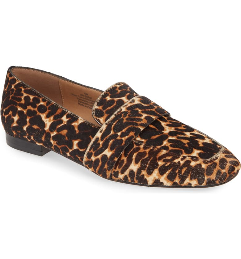 The ideal neutral. This year it's all about rocking your animal print with a loafer- if in fact a nod to the classics speaks to you. Remember, no trend should distract you from your authentic personal style. Keep things current, yes. But, above all else, stay true to yourself.