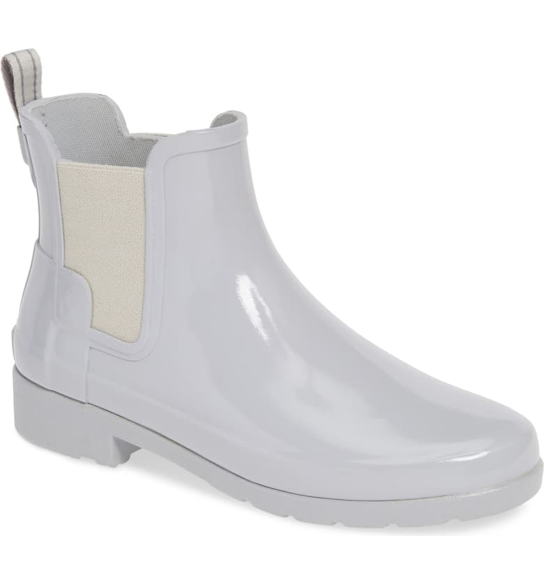 Hunter rain boots in white! Functional, hip and just right for a Seattle-ite.
