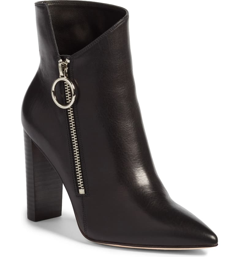 Paige doesn't just make great jeans for curvy bodies. These edgy boots with an exposed zipper make a big statement.