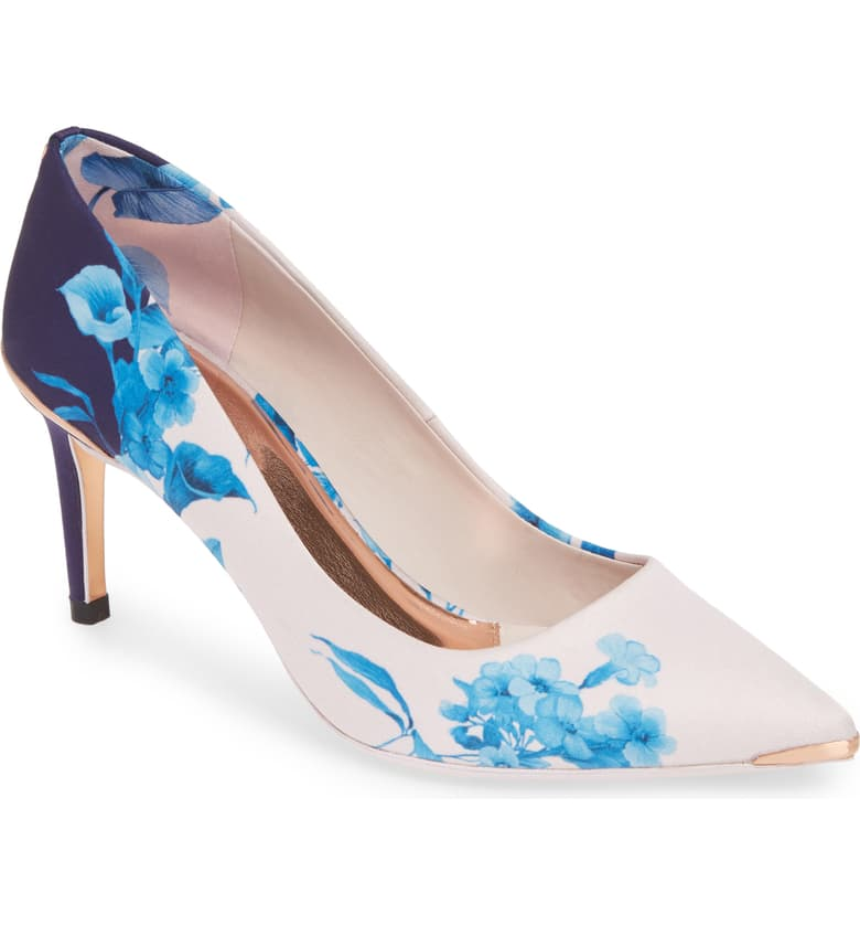 This Ted Baker shoe is destined to be in my client,  Delight's , closet. Her style key words are elegant, powerful and fun. Now, to see if she beat me to it.