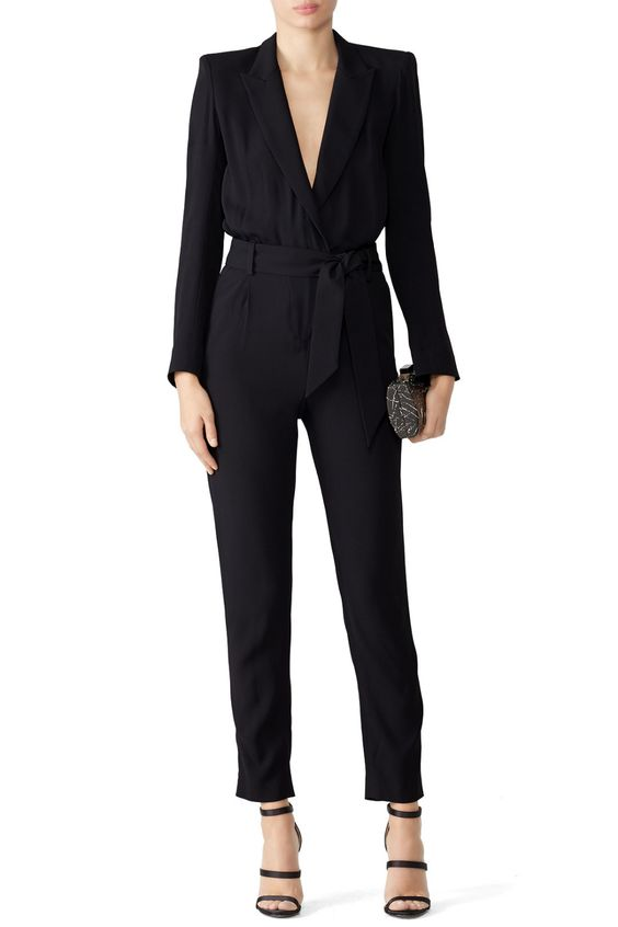 Iro  Delicate Jumpsuit. Available via Rent the Runway.