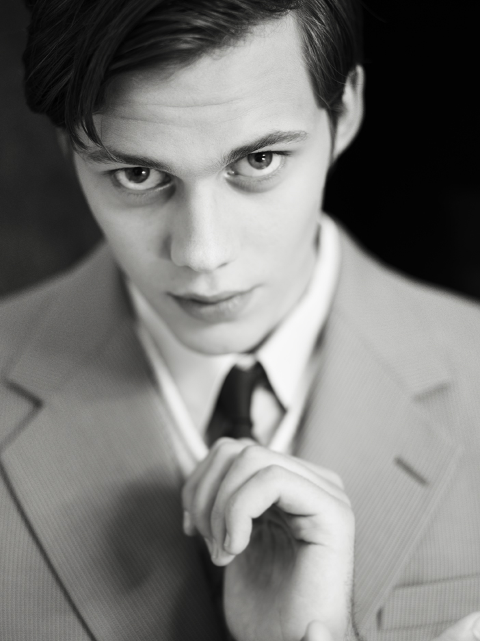 Actor Bill Skarsgård press images for the movie Simon och Ekarna