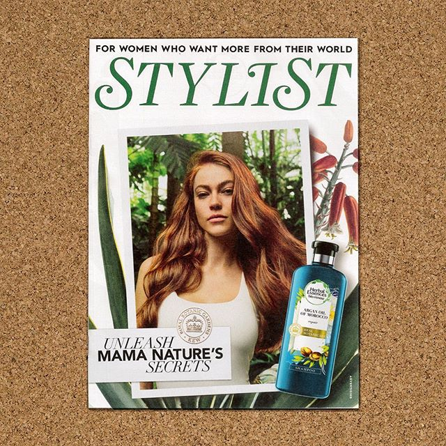 Who saw our @stylistmagazine cover wrap for @herbalessencesuk this morning? Unleashing Mama Nature's secrets onto London's commuters. . . . #MrPresident #Advertising #Haircare #HerbalEssences #Design #London