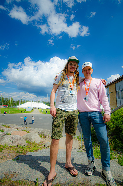 Miika Sinervo ja Matias Suonpää