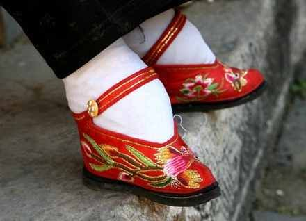 Lotus Shoes - Worn in China for over 1000 years