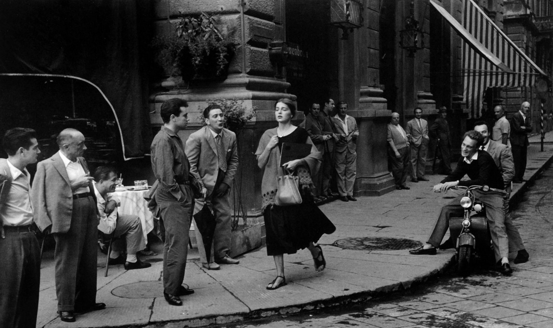 'American girl in Italy' by Ruth Orkin, 1951