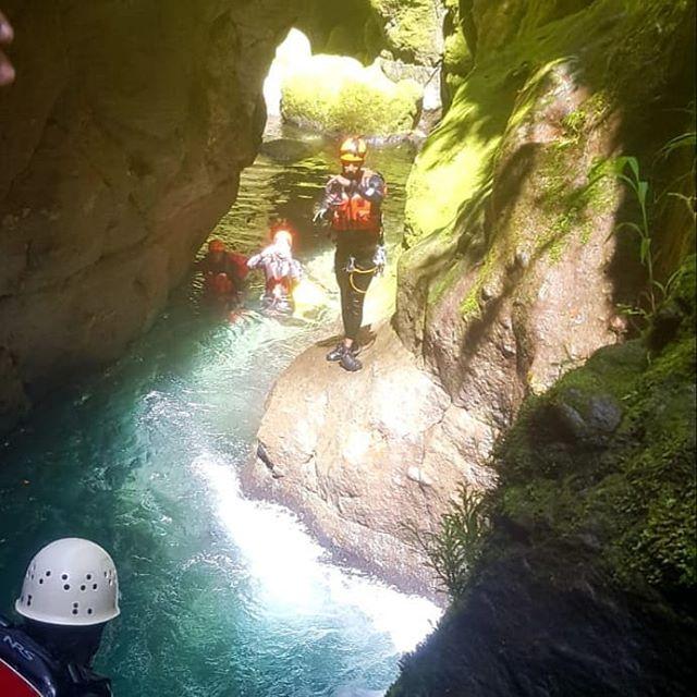 Trois Piton canyon