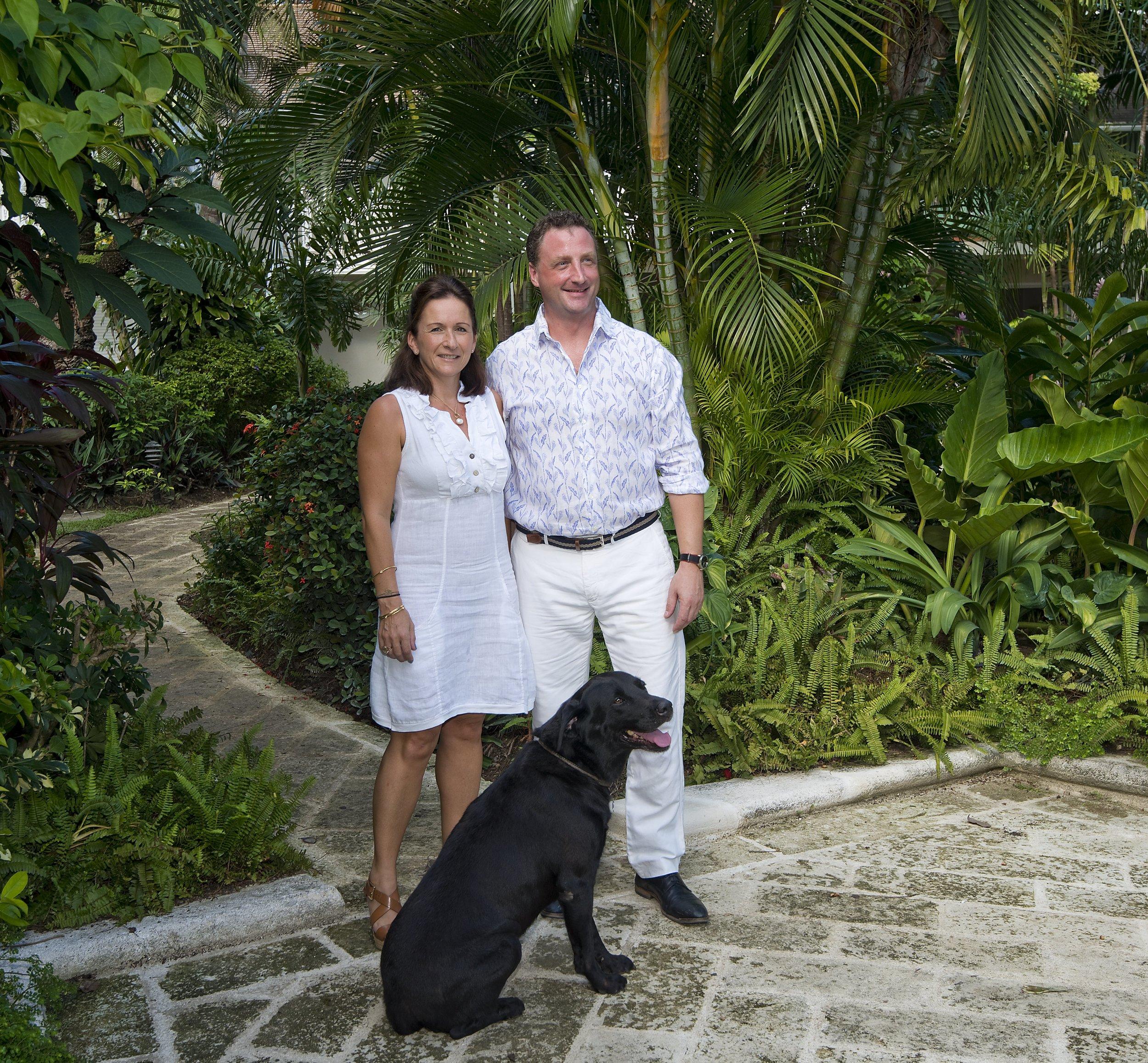 Cobblers Cove GM & wife & Dog.jpg