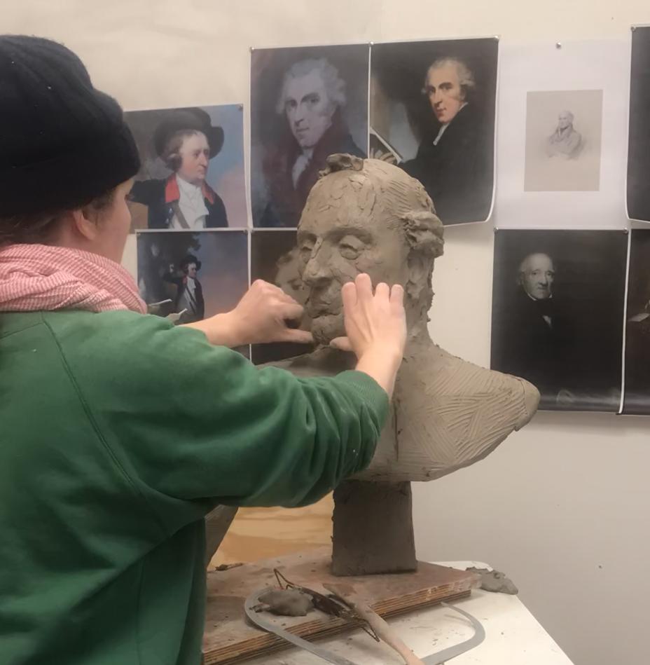 'Still Modelling of Henry Sandford'