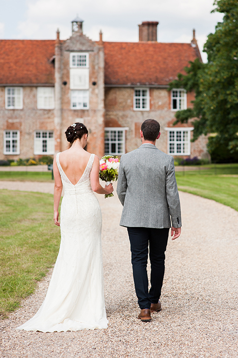 Bruisyard Hall Wedding, Suffolk-2