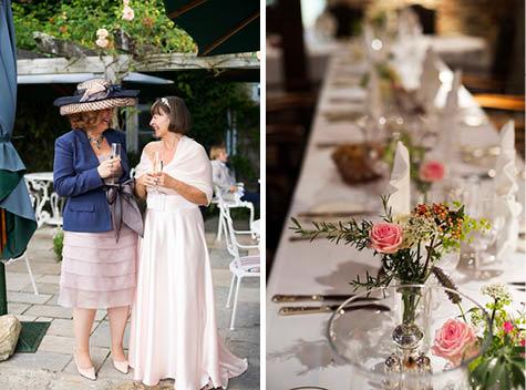 The Priory Hotel Wedding, Dorset-17