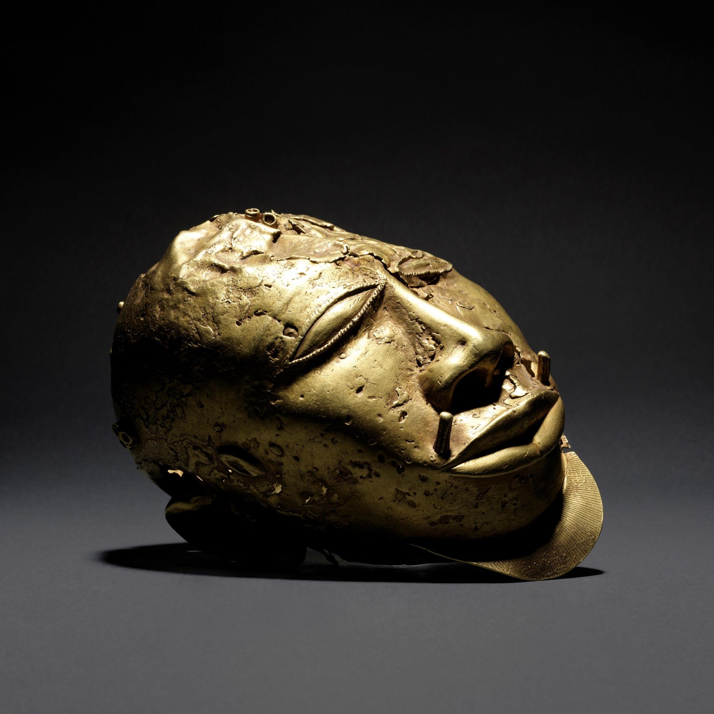 Asante trophy head