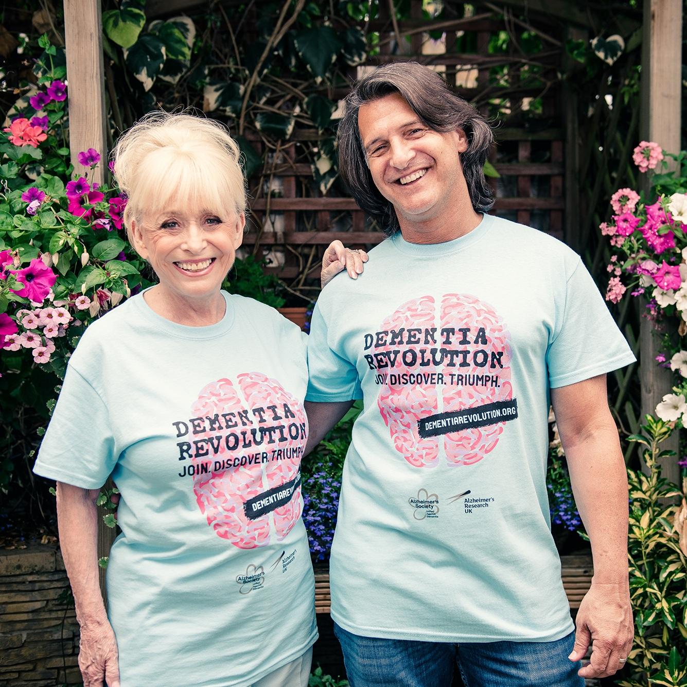 Dame Barbara Windsor with Scott