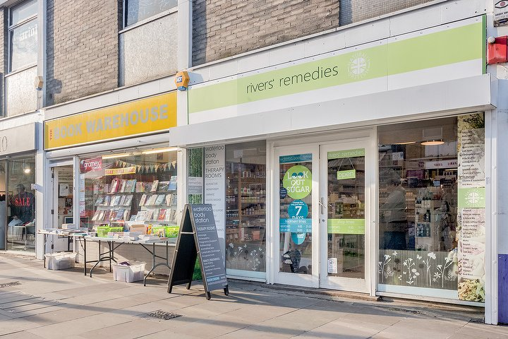 """- """"I've mis-spent so much time and money trying to grow my shop. I'm so pleased that now I have help I can trust,"""" Rebecca, owner of Rivers Remedies"""