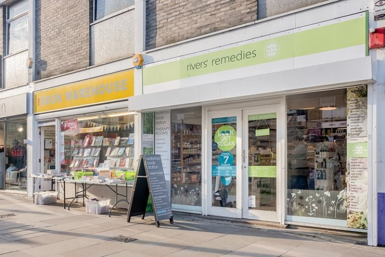 "- ""I've mis-spent so much time and money trying to grow my shop. I'm so pleased that now I have help I can trust,"" Rebecca, owner of Rivers Remedies"