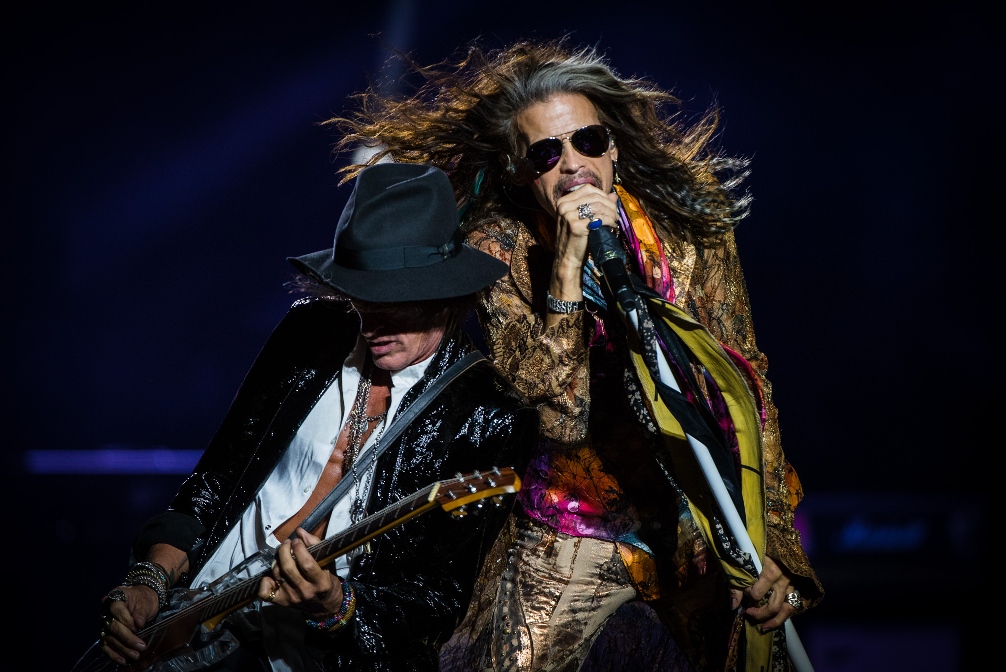 Aerosmith - Live in Dublin - Brian Mulligan - Steven Tyler - Joe Perry.JPG