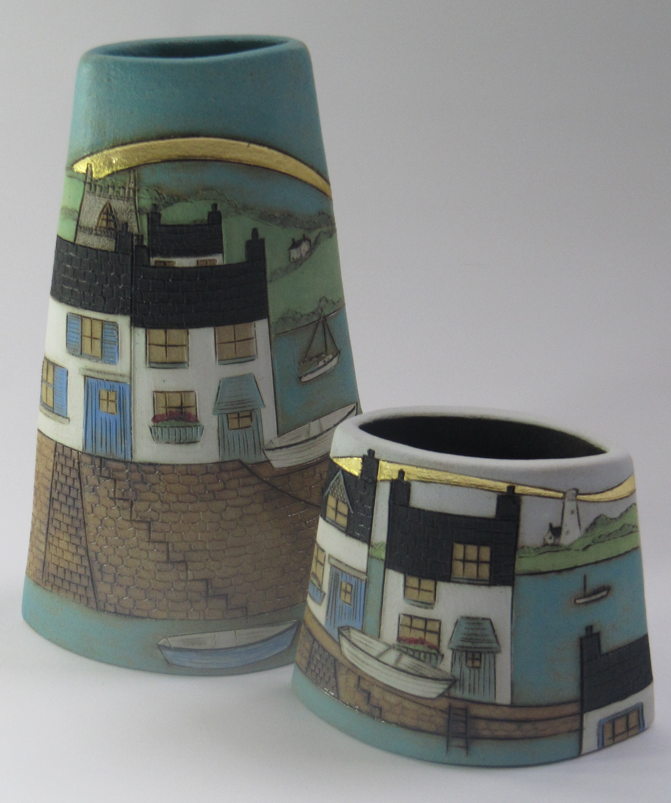 Denise Brown tall and small vessel.jpg