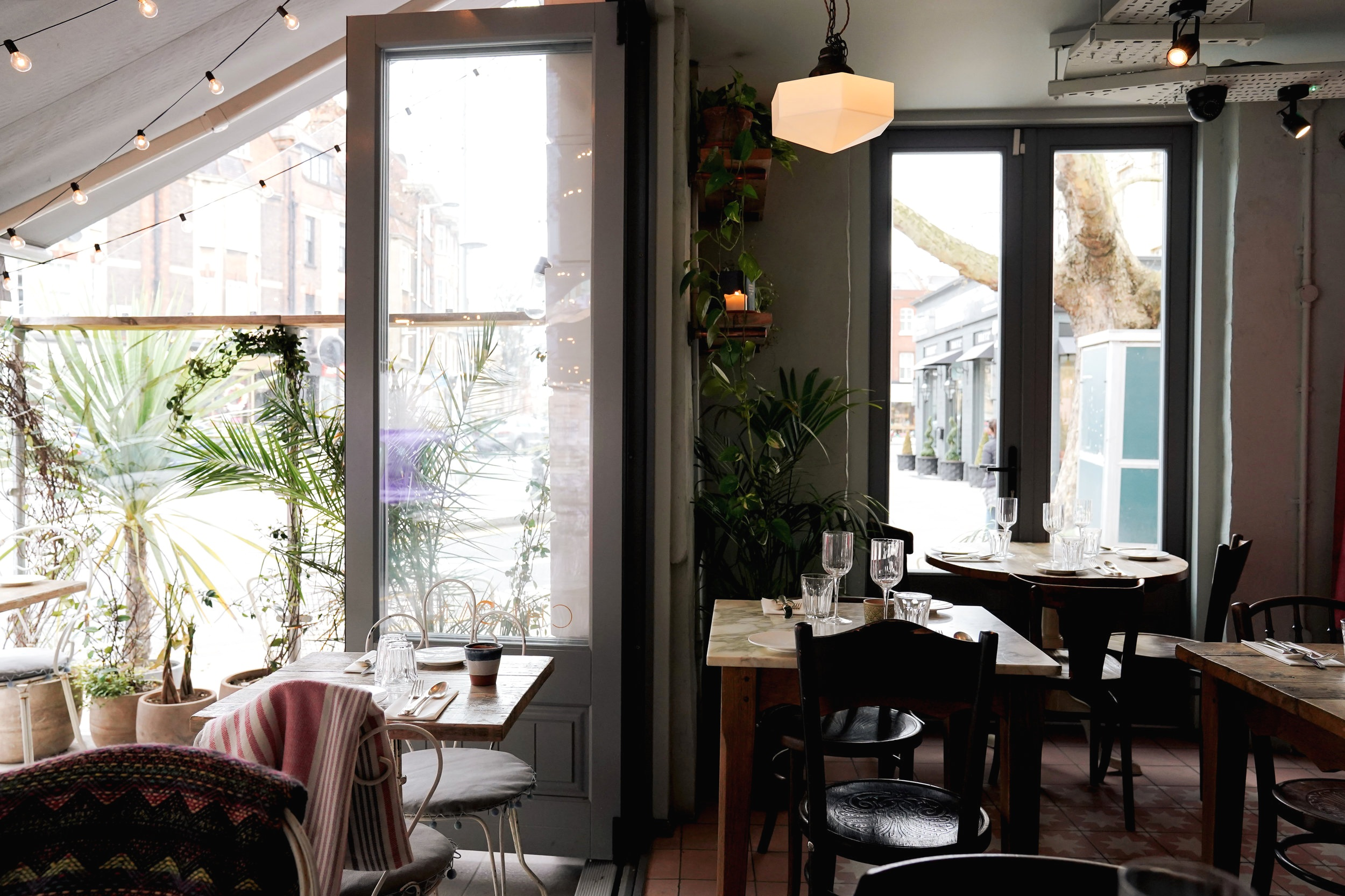 Chicama - seafood restaurant in Chelsea with terrace