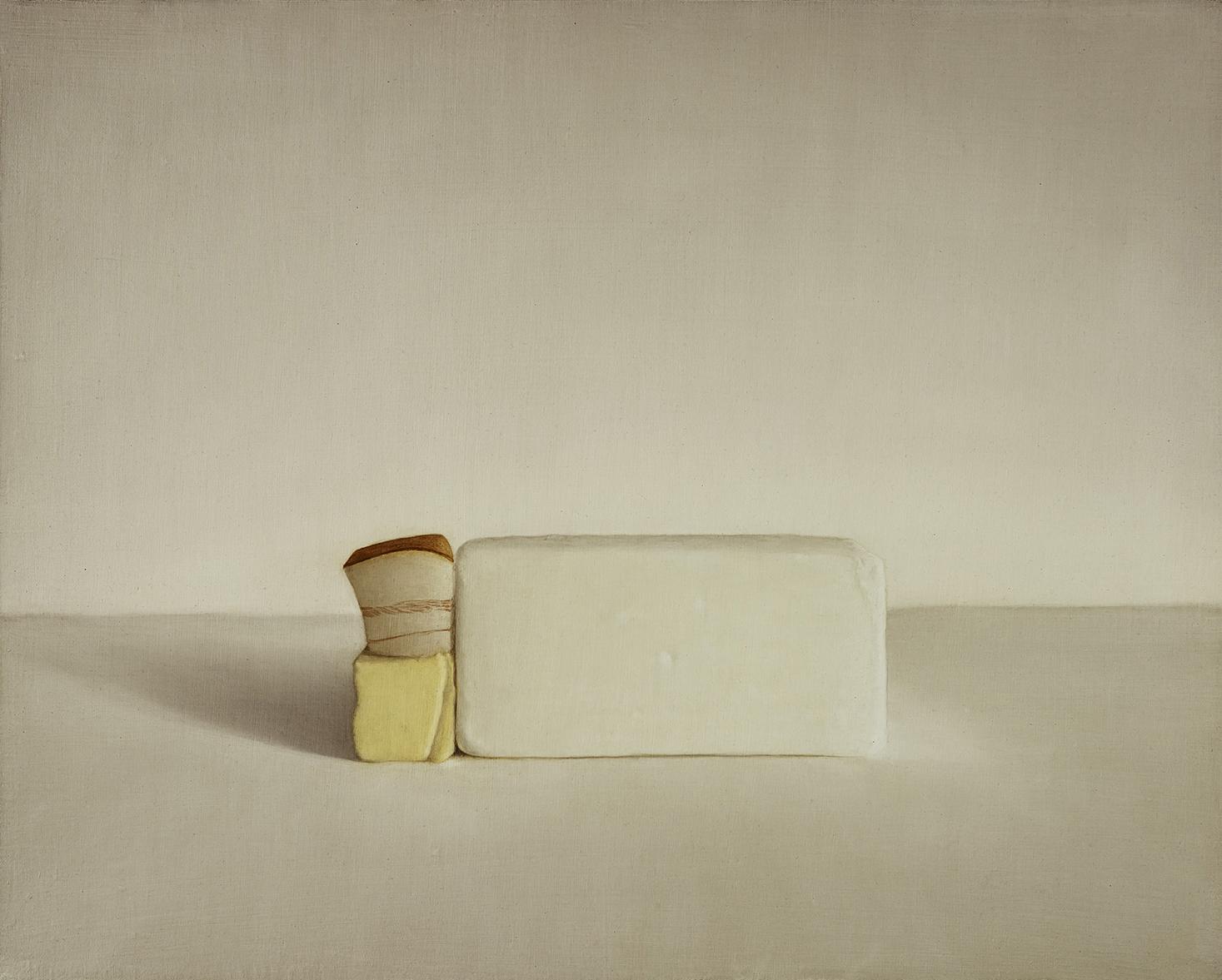 Lard, Butter and Sidemeat, 2013, 16x20, o/l