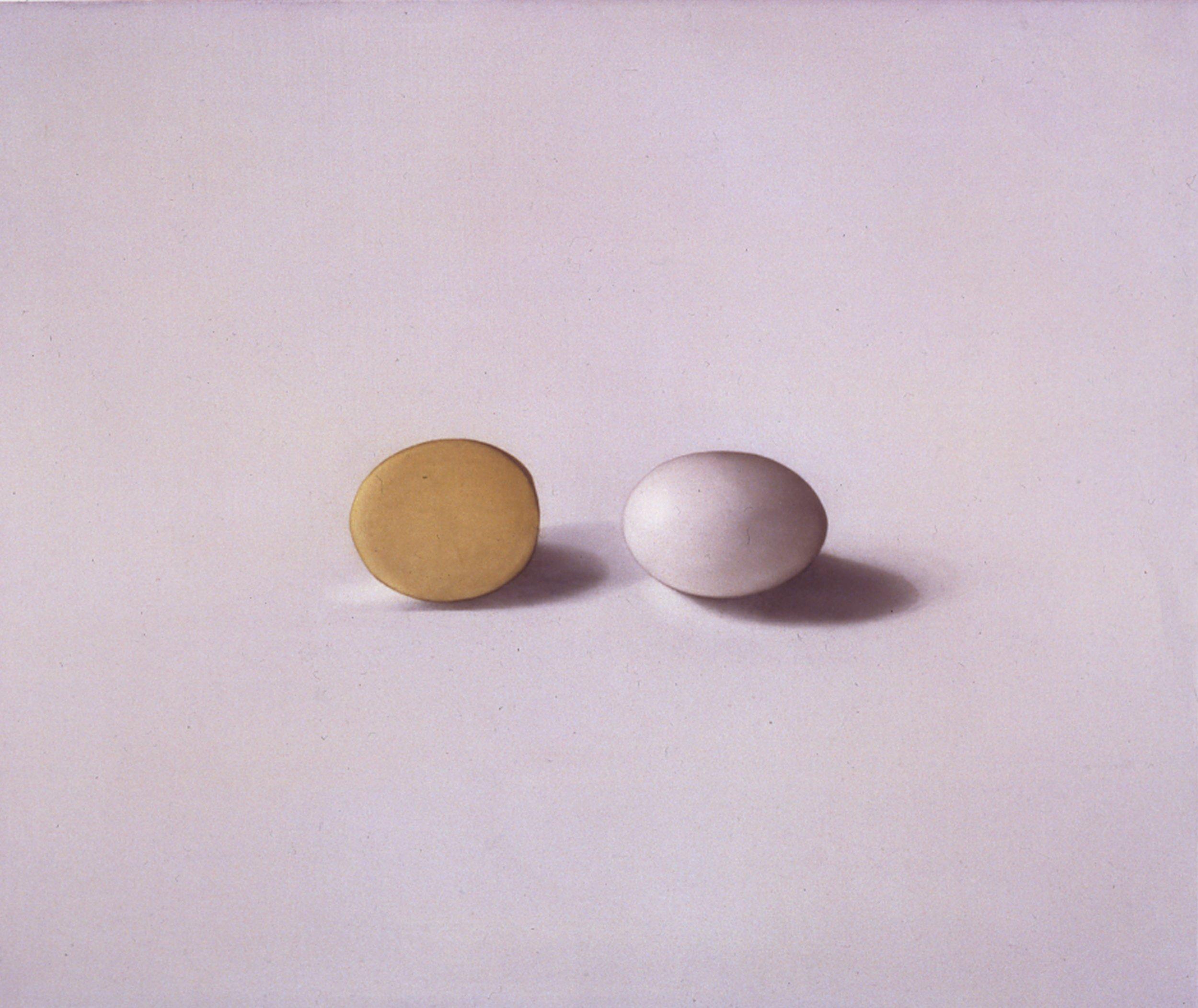 Egg and Potato, 1997, 15x18, o/l
