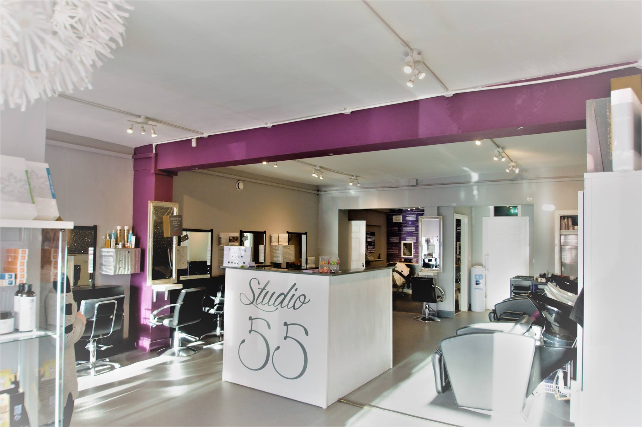 To Celebrate their 5 Star Award from the Good Salon Guide - Studio 55 Hair Salon All Saints Park Shopping Centre, are holding an appreciation evening on Saturday 5th May from 4 - 7pm. Consultations, treatment demos, raffles and much more on the night.