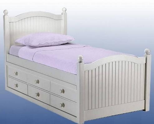 cama con doble cajonera