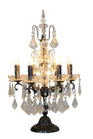 lámpara maxime candelabro cristal
