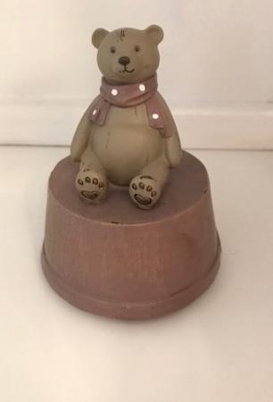 Caja musical oso