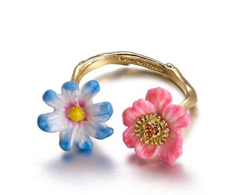 Anillo les fleurs flores