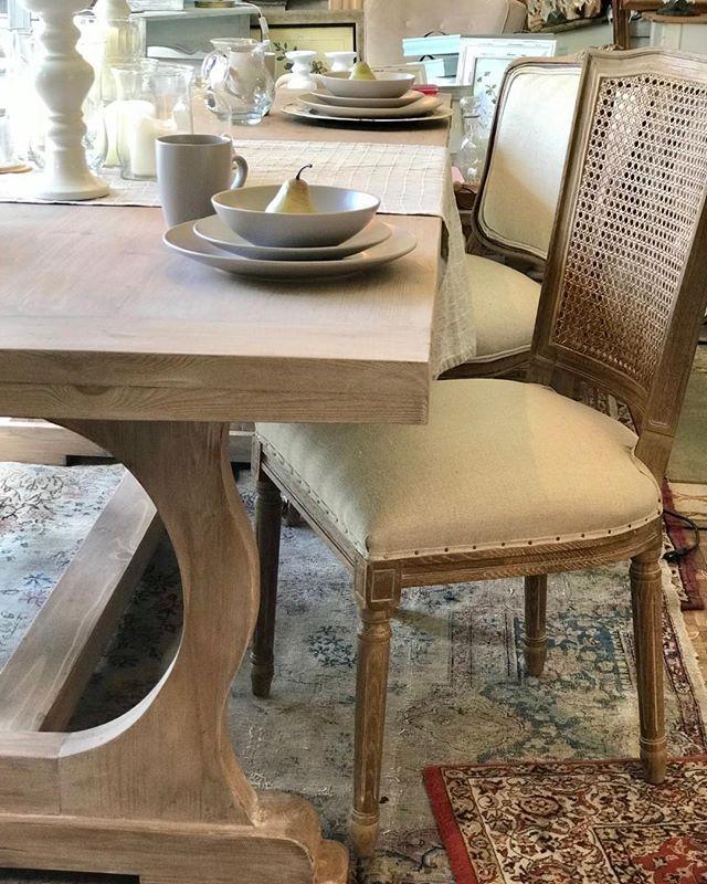Qué tal nuestra nueva mesa?