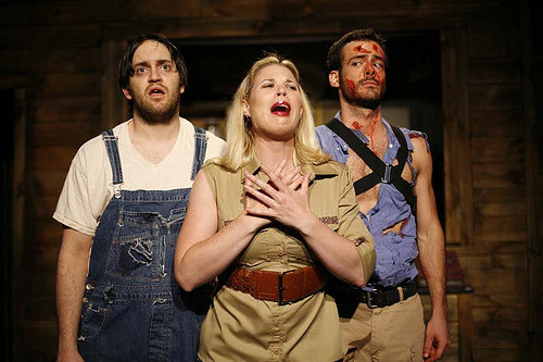 Evil Dead: The Musical, Actor's Theatre of Charlotte 2009 (Pictured with Ryan Stamey, Jon Parker Douglas)