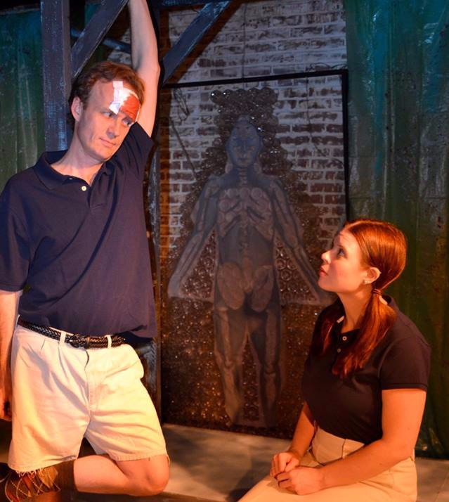 Gruesome Playground Injuries, Paper Lantern Theatre Company 2013 (Pictured with Brian Mullins)