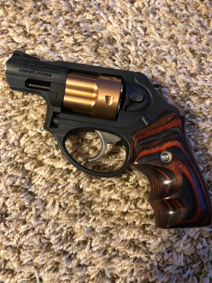 Ruger LCRx Boot Grip