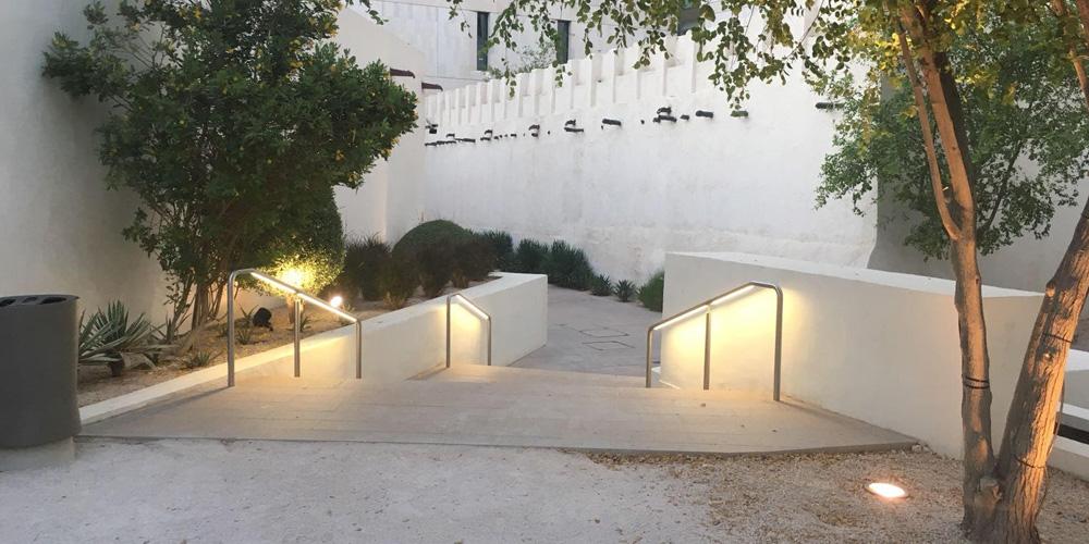 illuminated handrails -
