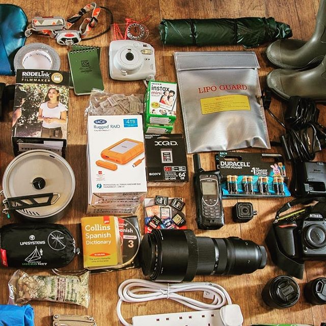 Expedition kit list is packed and ready to go!... 🎥 ✈ 🌴 Well, that's about a quarter of it - yikes!  All this and more will be heading down to the Peruvian Amazon in the next couple of days, along with one very small and very tired but determined Welsh girl (aka teammate Bethan John)  After so much much prep, it's suddenly got real - with equal measures of trepidation and excitement!  We'll be posting a handy 'What Kit to Pack for a Media Expedition to the Jungle' blog real soon so check out the link in the bio 👆  Massive thanks to our supports, who we couldn't have got this far without: @sesexplore @leathermanuk @texenergy @tentmeals_expedition_food @itison  #PioneerswithPurpose #Leatherman #ForRealLife #gooffgrid #voicesontheroad #peru #expedition #film #adventure #southamerica #manubiospherereserve #womenwhoexplore #liveyouradventure #jungle #conservation #filmmaking #freshairandfreedom #womenwhocreate #mytinyatlas #welivetoexplore