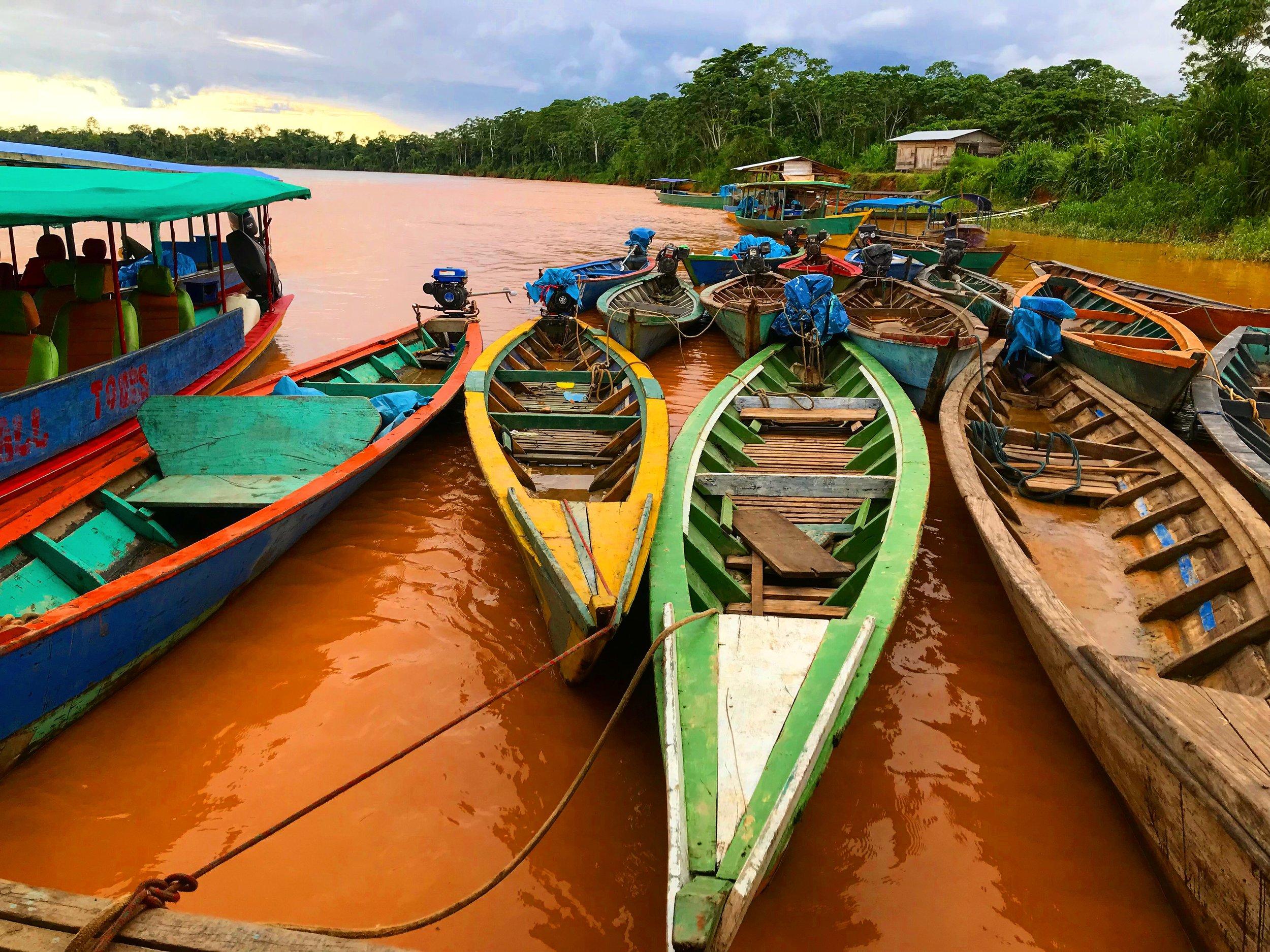 6. Peke-peke boats