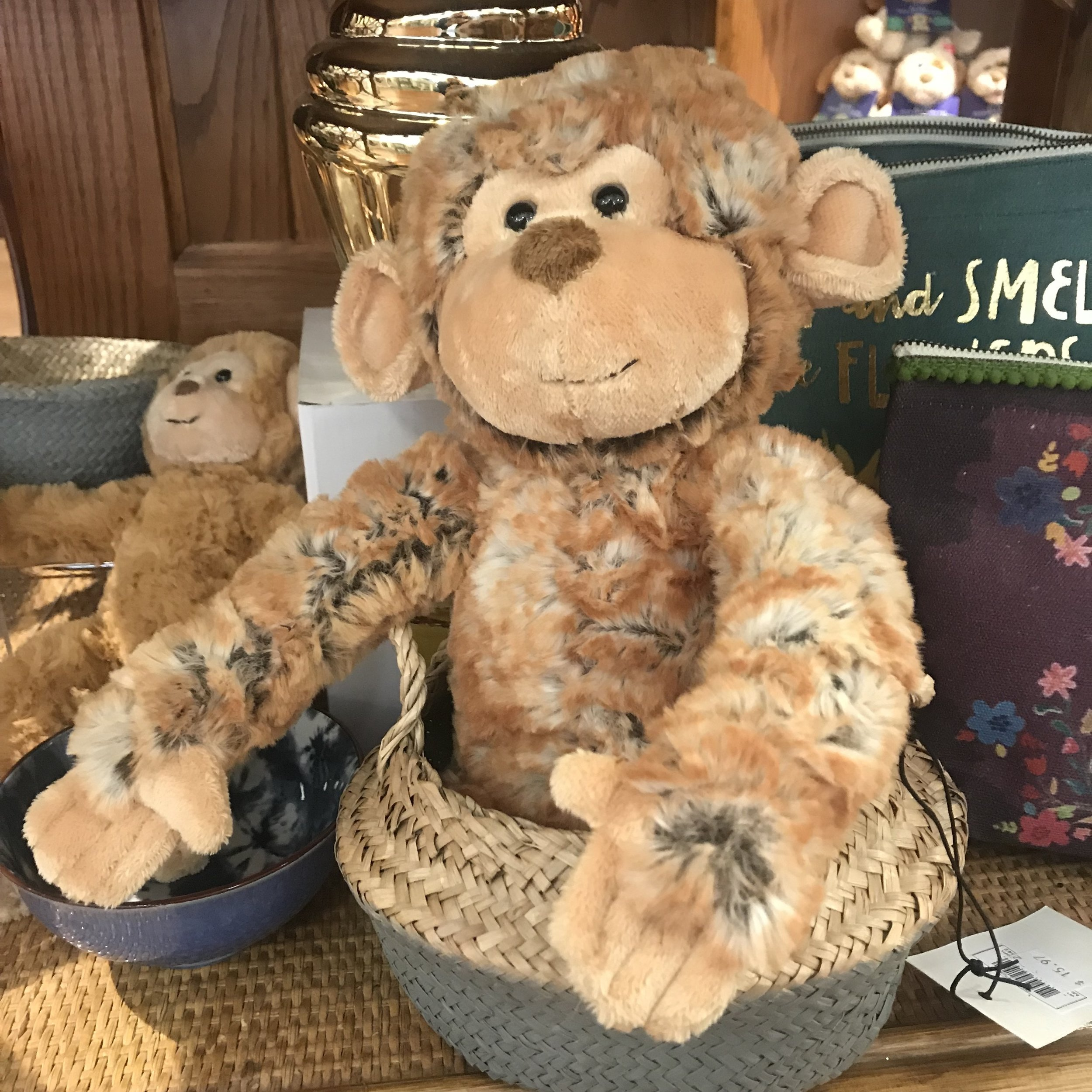 monkey stuffed animal