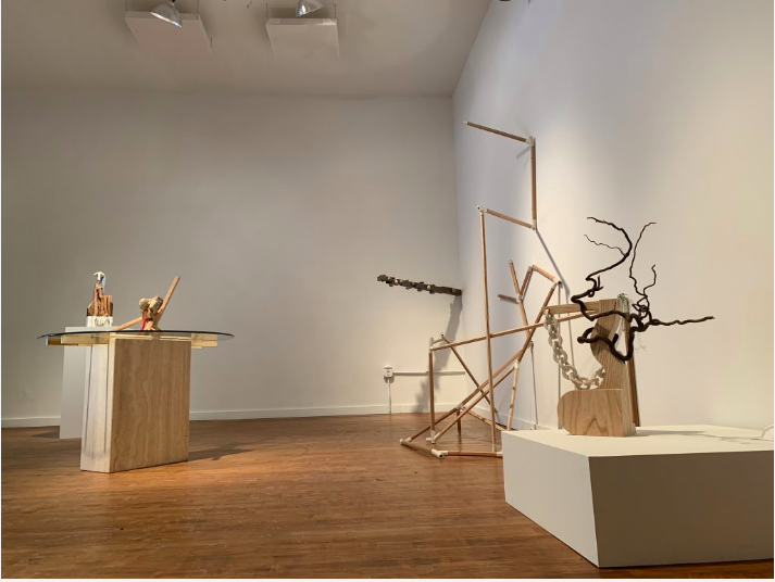 """Six Artists With A Heap of Materials"" - by: Catherine Jozwik"