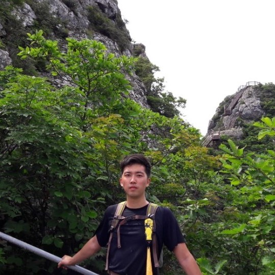Hiking in South Korea