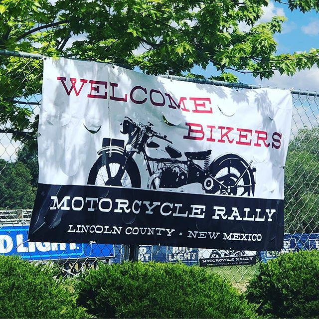 It's Rally Time! Don't forget it's locals day. . . . #goldenaspenrally #ruidosorally #aspencashrally #motorcyclerally #exploreruidoso #ruidoso #newmexico