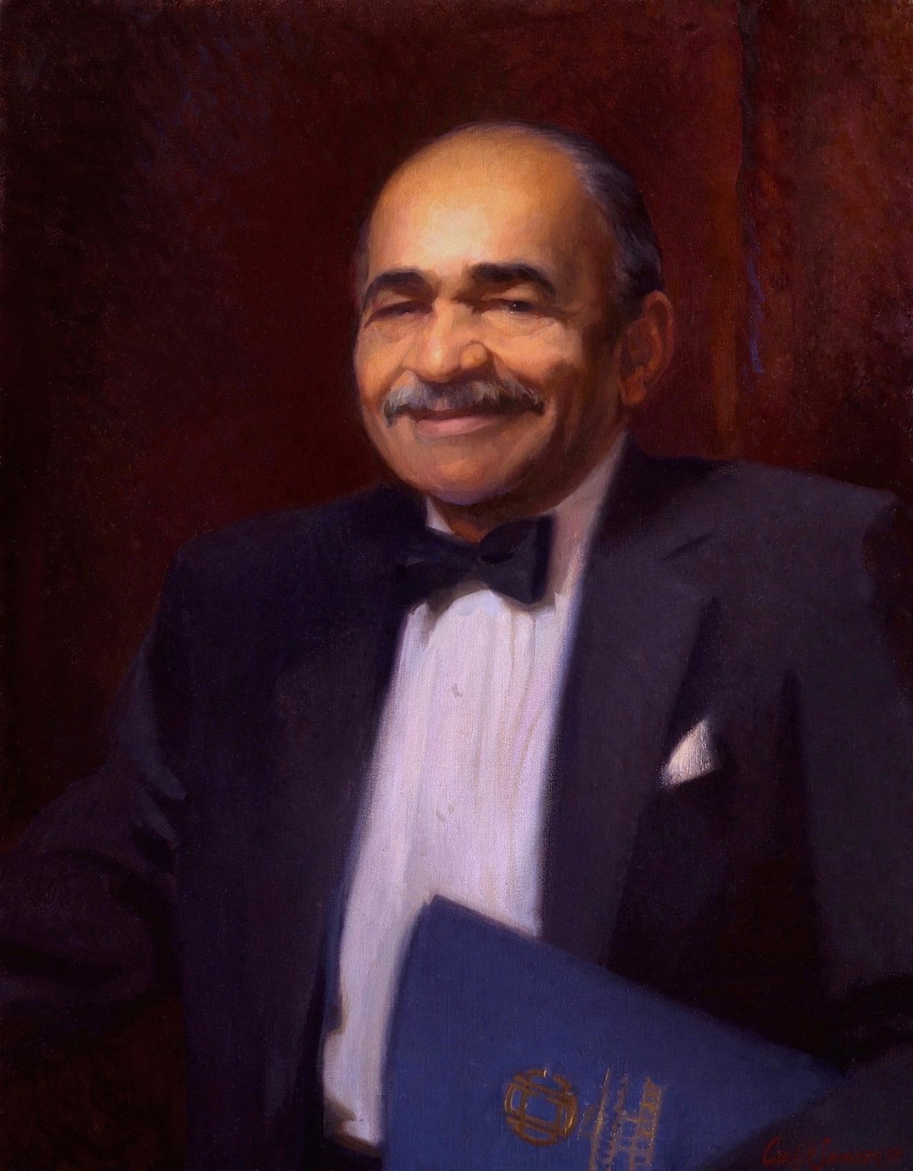 Oil Portrait, Head Maître D′